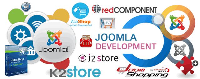 13 компонентов интернет магазина для Joomla