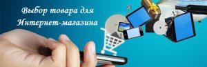 Выбор товара для Интернет-магазина