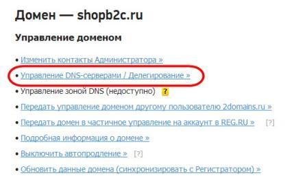 регистрация домена управление DNS