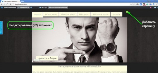 редактирование-сайта-магазина-UMI-CMS-3