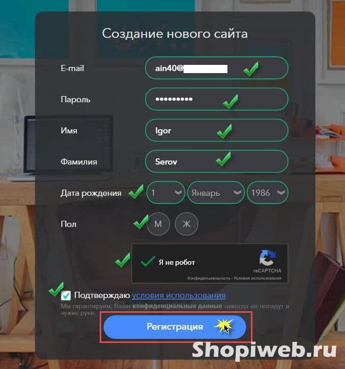инструкция по созданию сайта с по