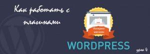 как работать с плагинами WordPress