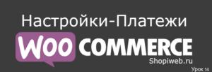 настройки платежей WooCommerce