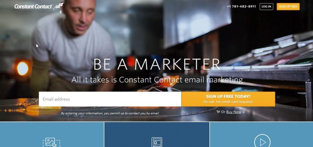 почтовые сервисы для рассылок: Англоязычный сервис Constant Contact