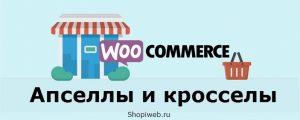 Апселлы и кросселы WooCommerce: что такое перекрестные продажи и поднятие сумм заказа