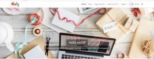 Ruby тема WordPress
