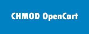 CHMOD права доступа при работе с OpenCart