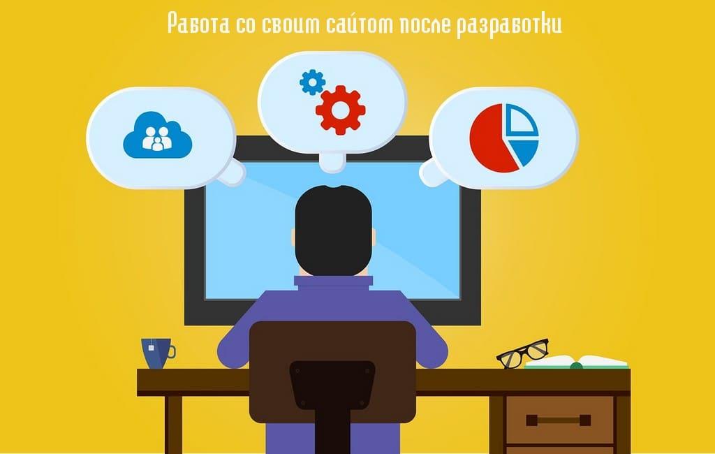 Работа со своим сайтом